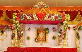 Flower Decoration In Tirumala