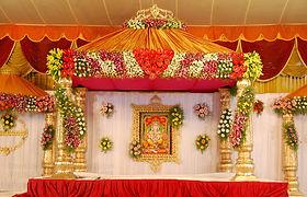 Flower Decoration In Tirumala