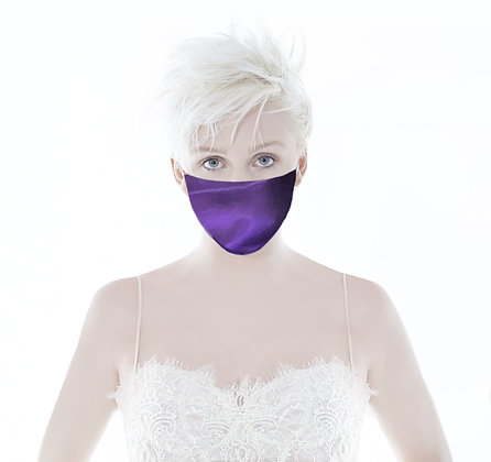Purple Silk Mask