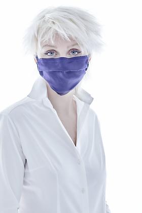 Purple Silk Mask