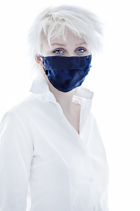 Navy Rose Mask- Limited Edition