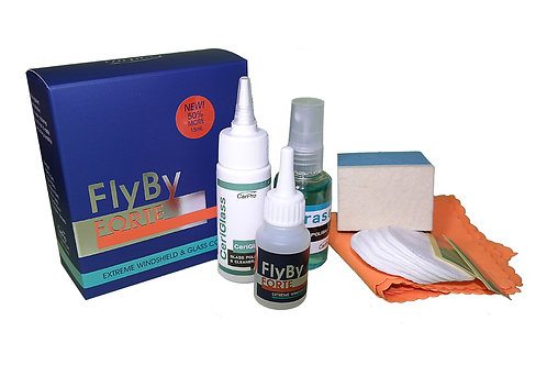 FlyBy FORTE (Windshield Coating) 15ml kit
