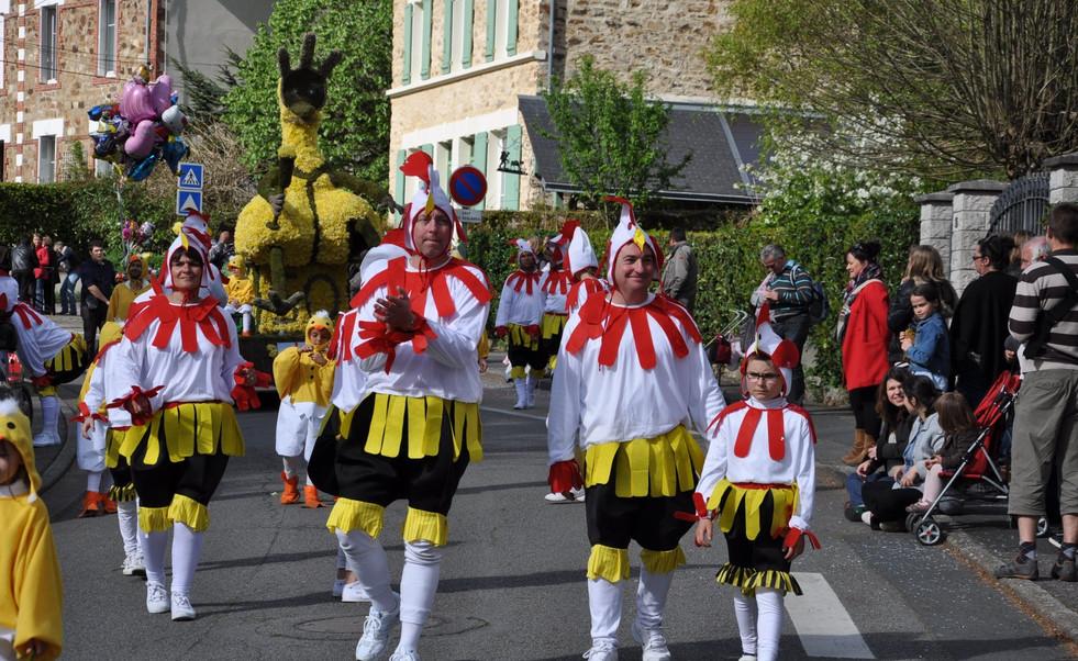 Chicken run – Quartier du Moulin de la Juliennais