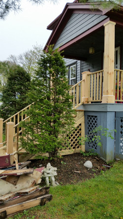 Porch Stairs, Railings & Posts