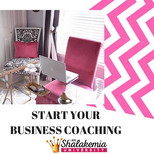 Start your business coaching