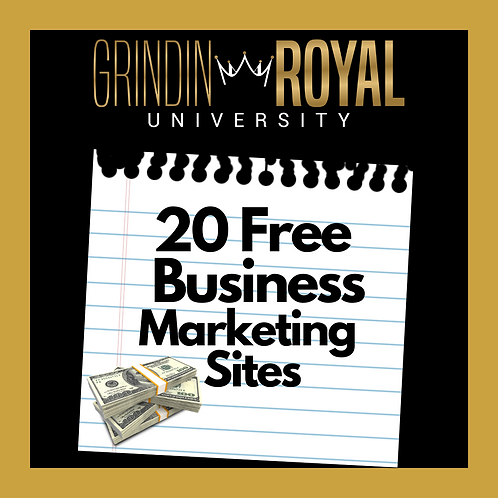 20  Free Business Marketing Sites