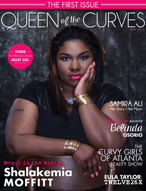 Queen of the Curves Magazine Cover Nov 2