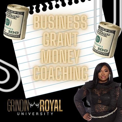 Business Grant Money Coaching