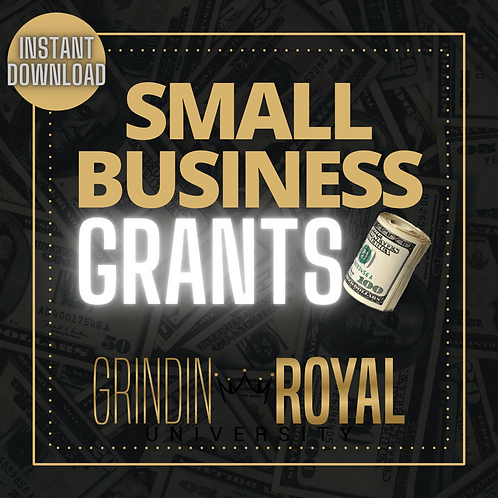 Small Business Grant List