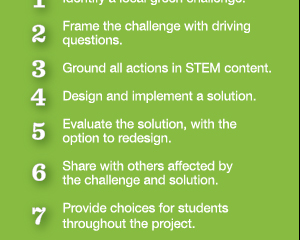 GreenSTEM Model: Steps for an instructional approach