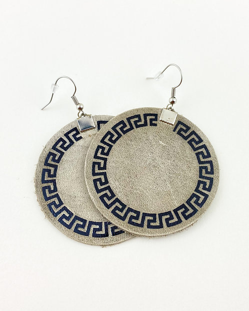 Genuine Leather Aromatherapy Earrings