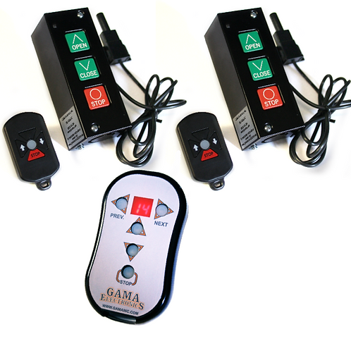 PB3-REMOTE-X2 Remote Control System for 2 Doors