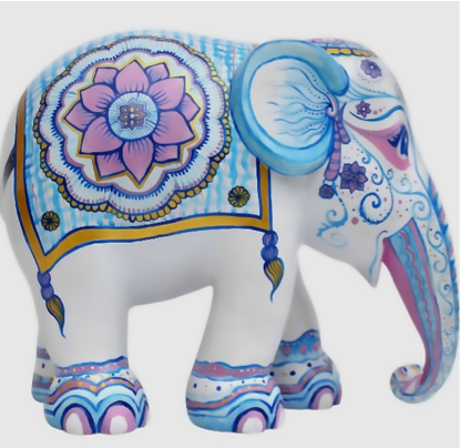 INDIAN ELEPHANT 7+AGE     3D airdry clay    FRIDAY-02 JULY : PM
