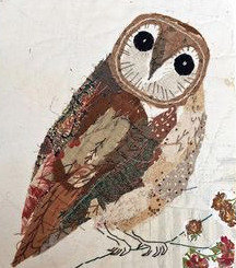 WINTER OWL 7+AGE    collage on canvas THURS-08 JULY : PM