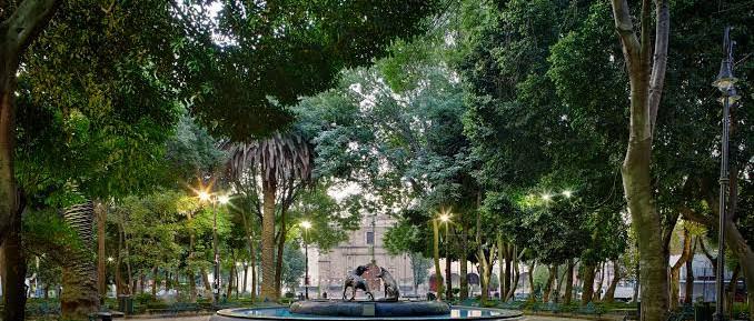 Plaza Jardín Hidalgo, Coyoacán.jpg
