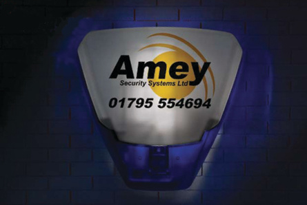 Amey Security back-lit siren