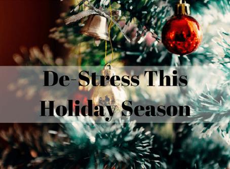 3 Ways to Avoid Holiday Stress this Season