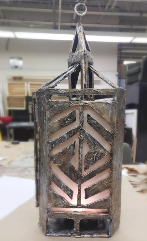 Three-Sided Lantern