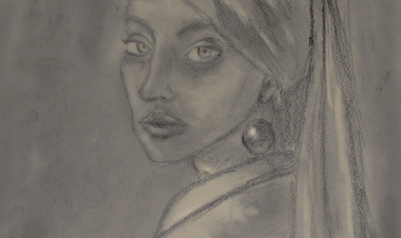 Self Portrait (Girl With a Pearl Earring)