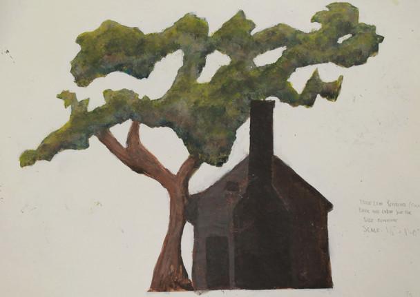 Tree Paint Elevation