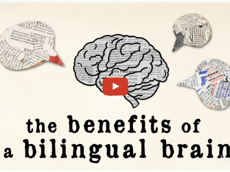 """Bilingualism makes your brain healthier, more complex and more actively engaged."""