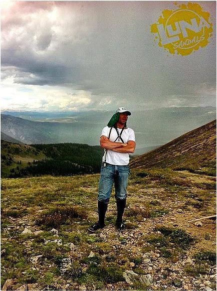 At Hope Pass 12,000+ feet