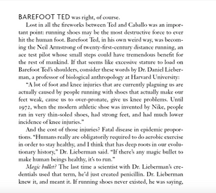 Barefoot Ted was right, of course.