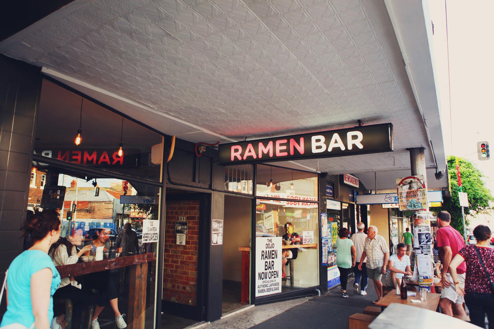 For The Dojo Ramen Bar