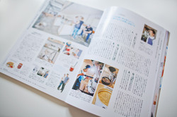 Picture for a magazine in Japan