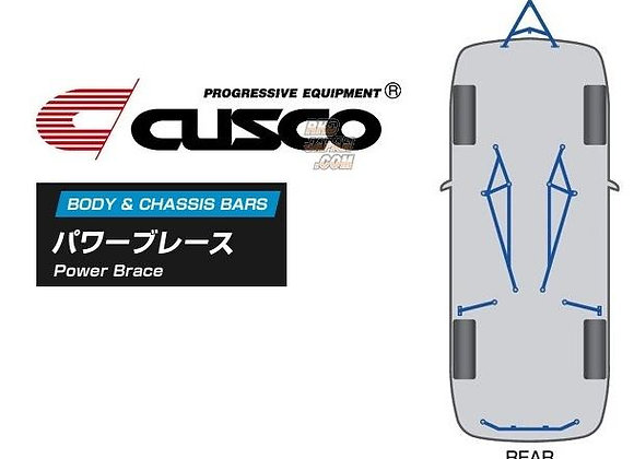 CUSCO TRUNK BAR POWER BRACE SUZUKI SWIFT SPORT ZC33