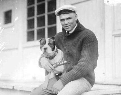 Heavyweight Champ Jack Dempsey