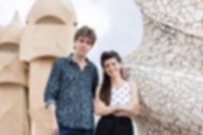 Albert Cano Smit and Raquel Garcia Tomas
