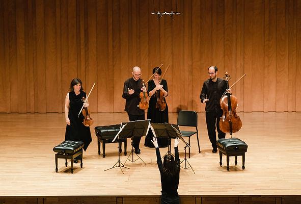 Cosmos Quartet presents their CD _Influe