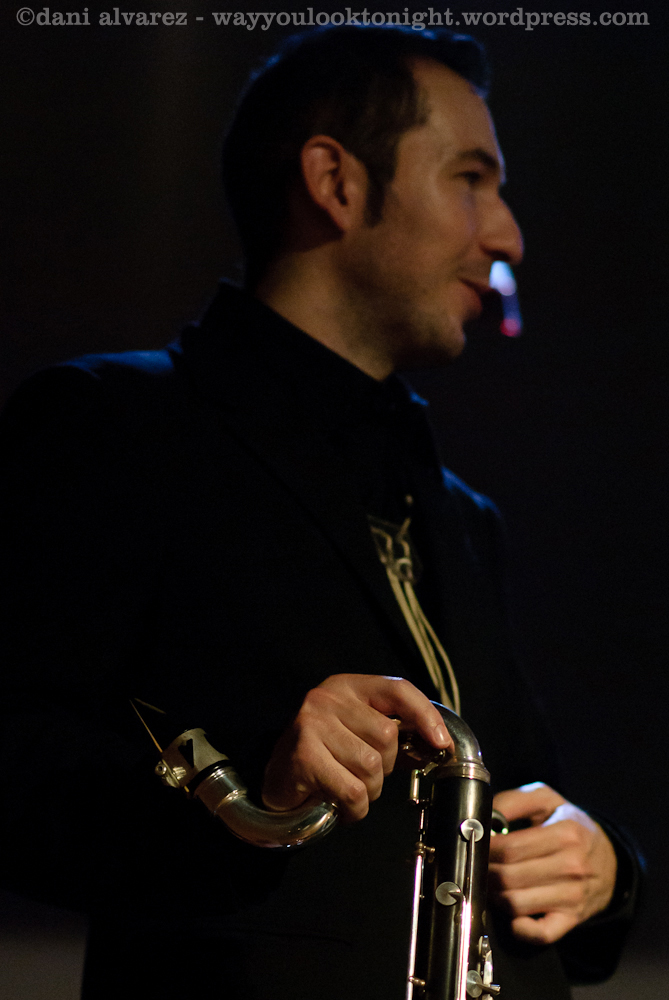 Clarinettist Víctor de la Rosa