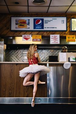 Ballerina at Essie's Orignial
