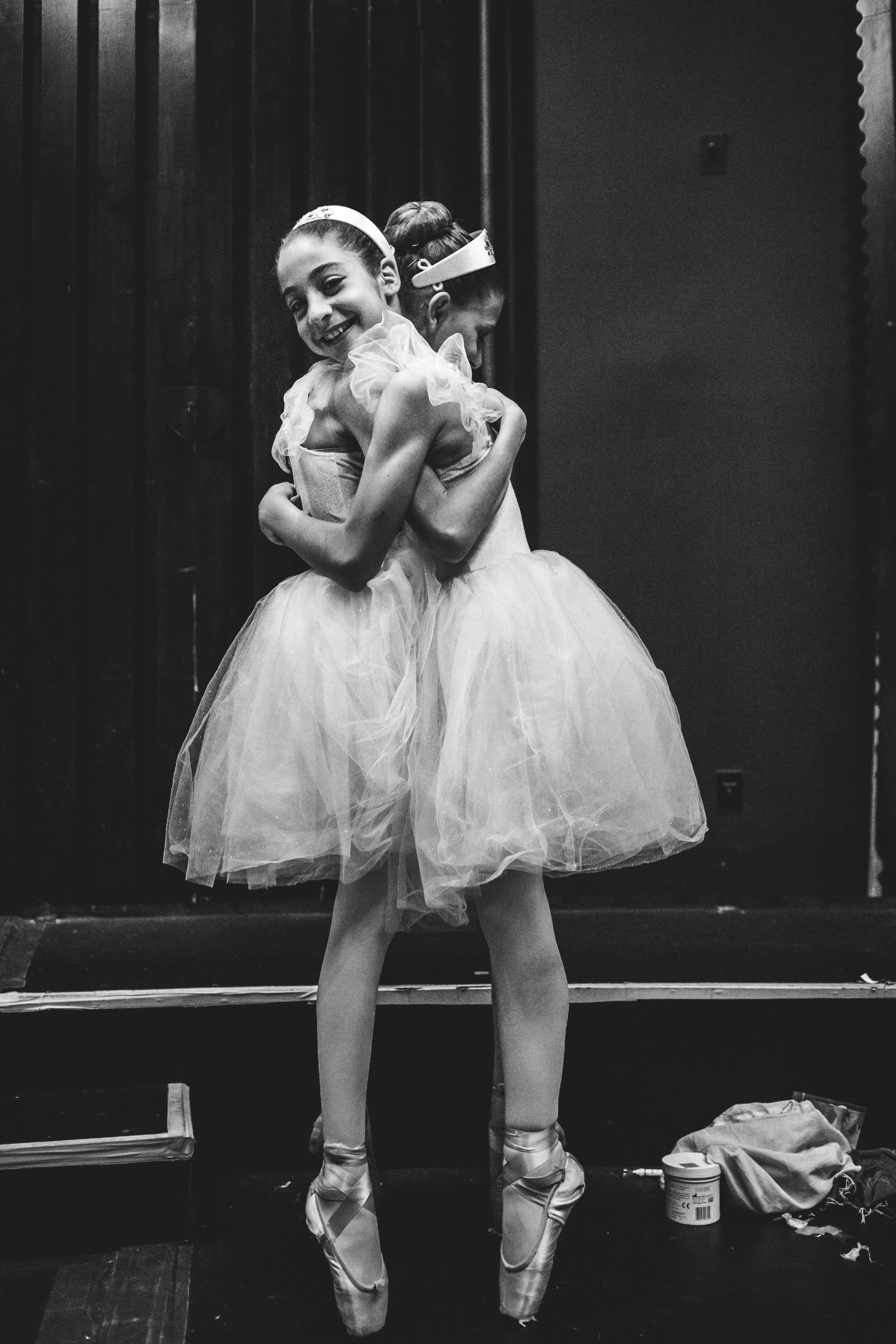 Ballerina hug