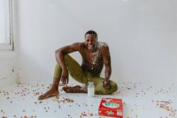 Laughing over spilt milk
