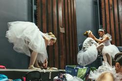 Backstage ballerinas