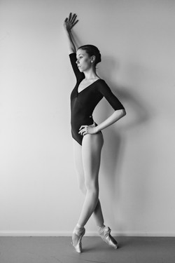 Stephanie Beusser en pointe