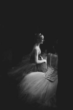 Ballerina in the wings