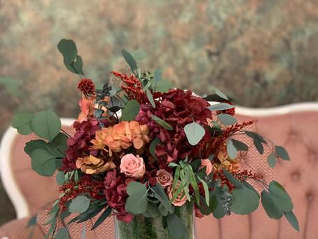 Stabilizētu ziedu un augu kompozīcijas