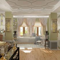 Дизайн интерьера Загородного дома (МО)