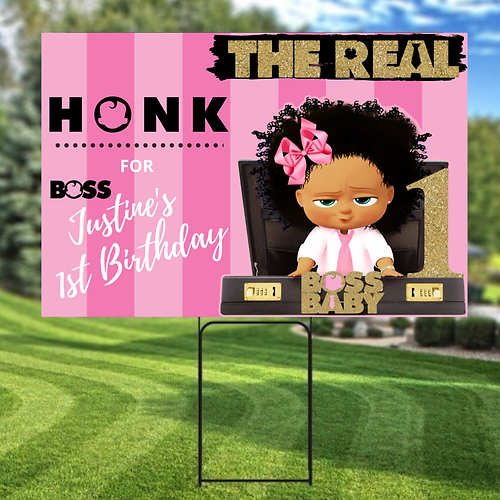 Boss Baby Birthday