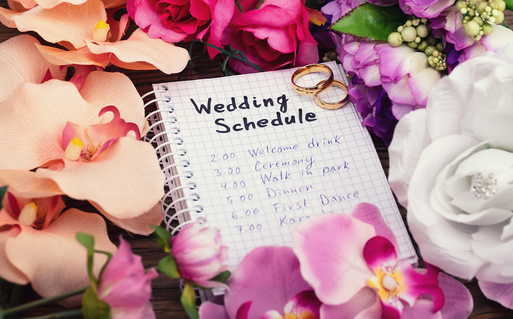 What to Include on Your Wedding Website, Wedding Schedule, Wedding Planning, Wedding Planner