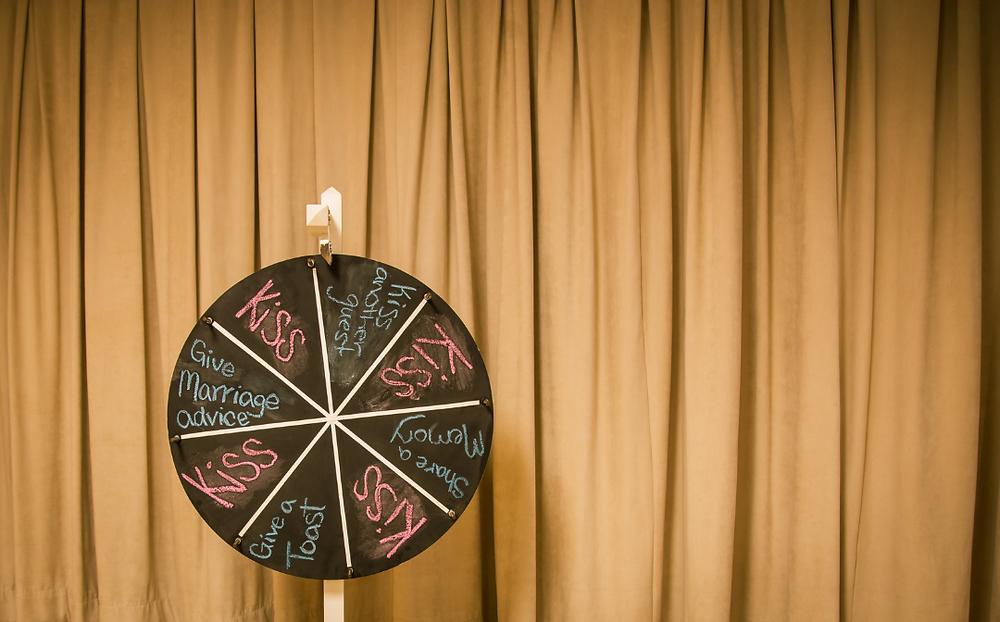 Wedding Wheel of Fun, Wedding Games, Fun Wedding Ideas