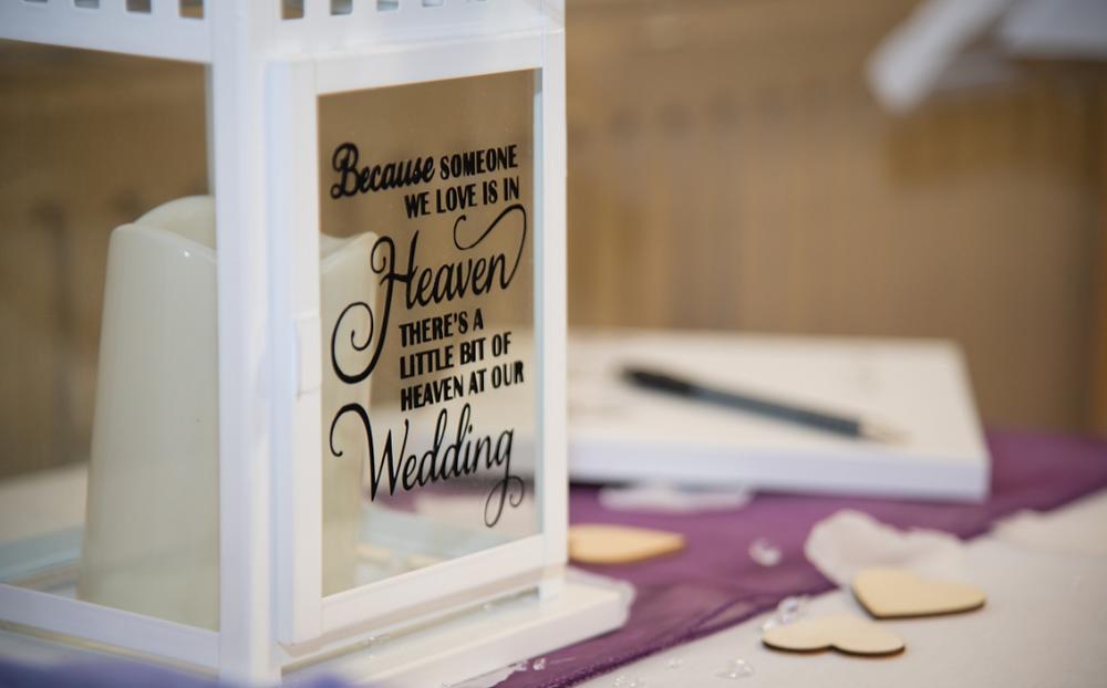 Honor passed loved ones at wedding, wedding memory, wedding planning, wedding design