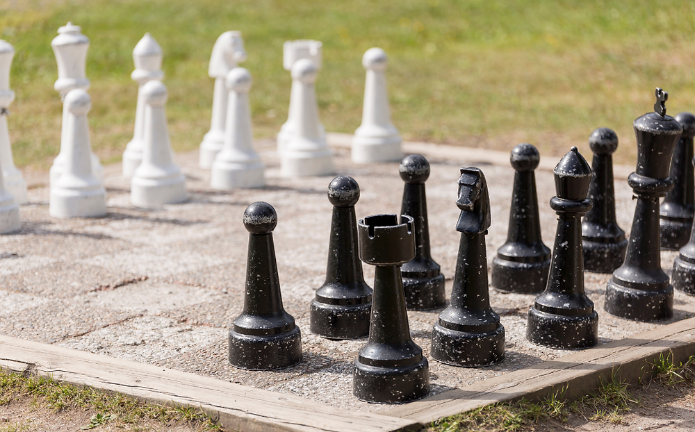 Oversized Lawn Game, Wedding Games, Giant Chess