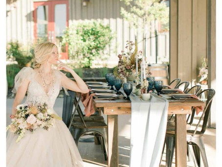 Plymouth Wedding Inspiration: Love You to the Moon and Back {The Layout}