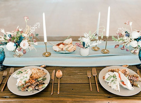 Plymouth Wedding Inspiration: Love You to the Moon and Back {Styled Cuisine}