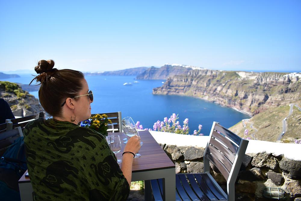 Amazing views from the Venetsanso winery